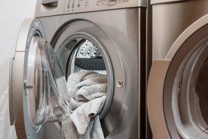 A washing and drying machine.
