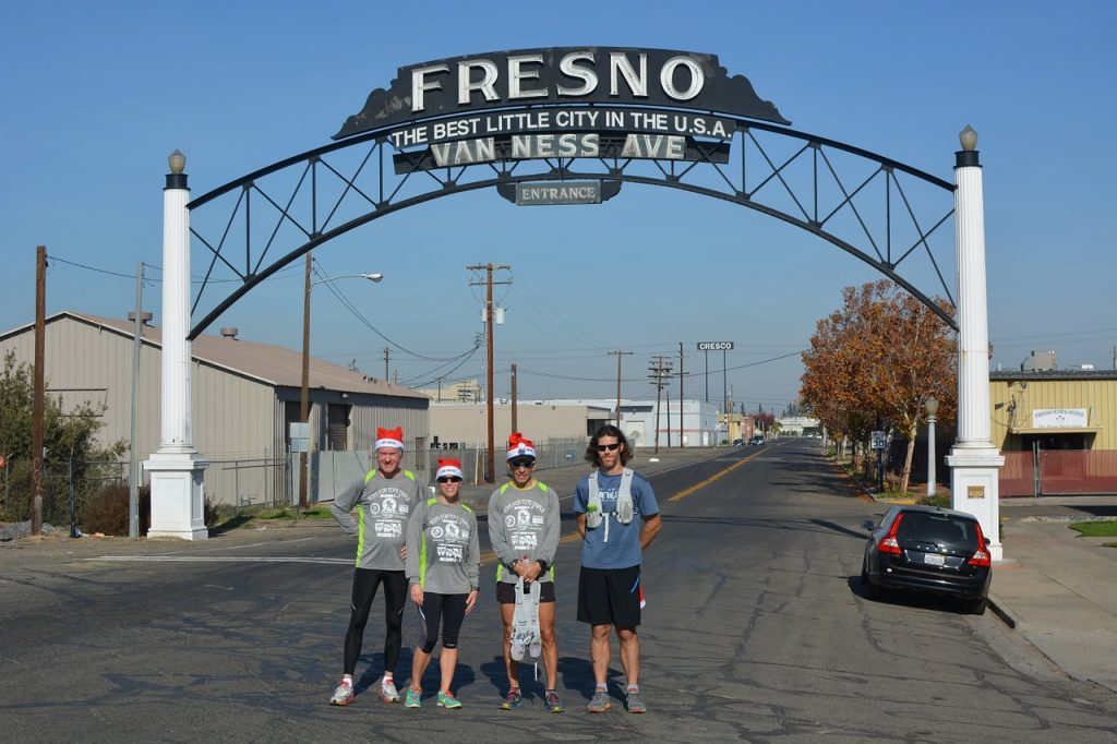 An entrance to the city of Fresno