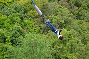 bungee jump, nature