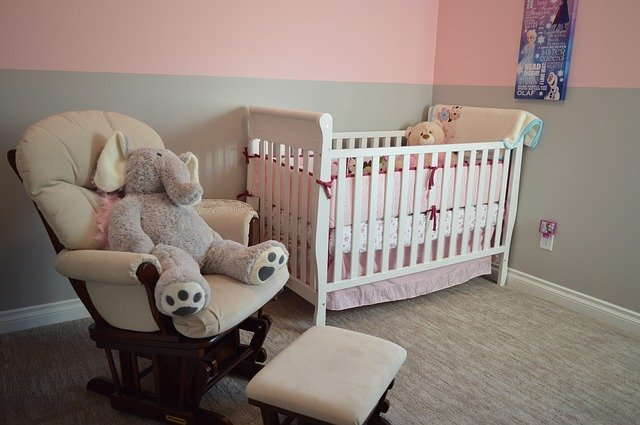 Nursery, unpack this room first when you want to unpack your home in a day