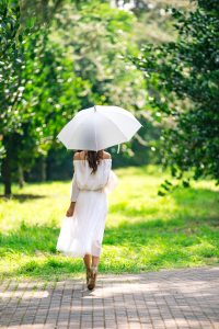 nature-woman walking