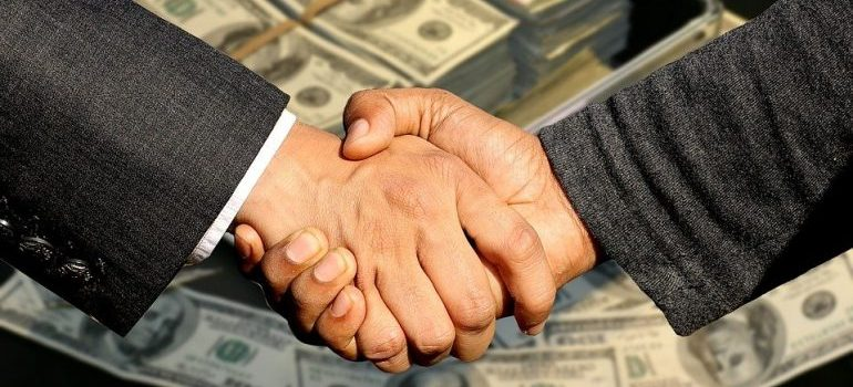 If you want to downsize after you move you might experience handshaking in front of a pile of money