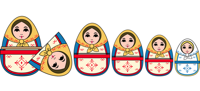 Use a technique of Russian dolls to create extra space in your storage unit