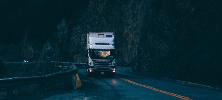 a mving truck