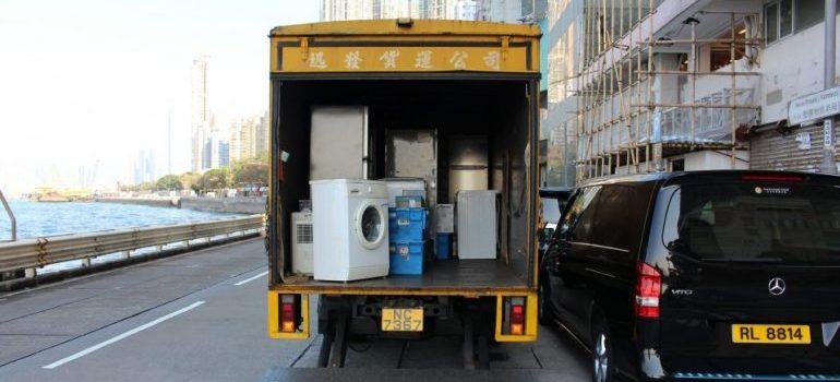 Truck full of things