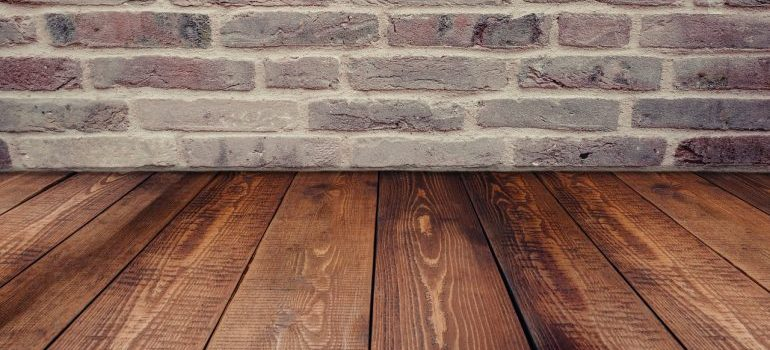 Take some time to protect floors while moving to make sure they look great after the chaos is over.