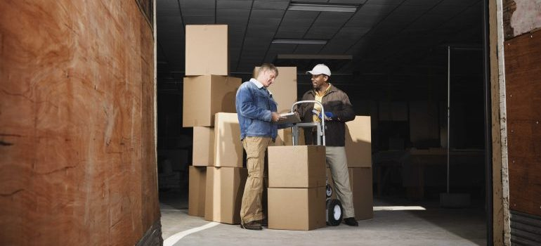 Professional residential movers Dallas