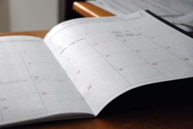 a calendar - Relocating to Allen TX as a single parent