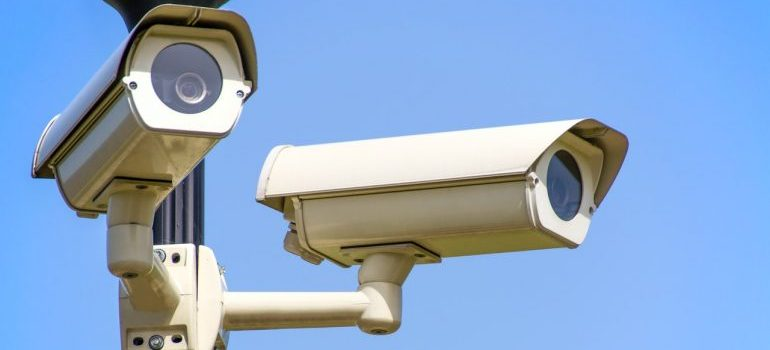 Two CCTV camers