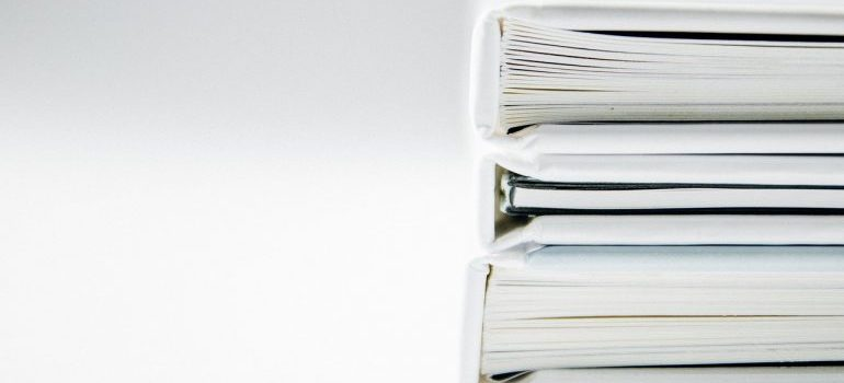documents - organizing your supply closet