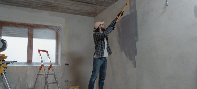 Walls painting to remodel your home in Plano this Spring.