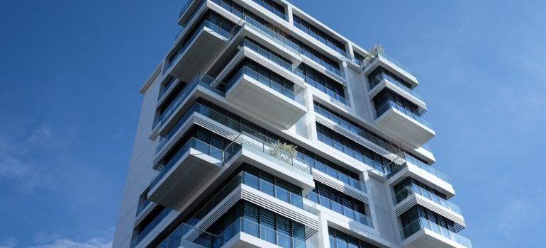 Building with condos