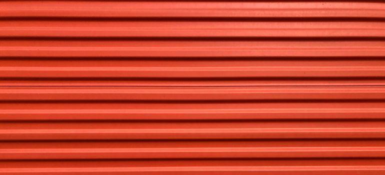 garage door - reuse packing materials