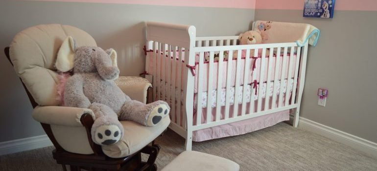a crib - childproof your new home