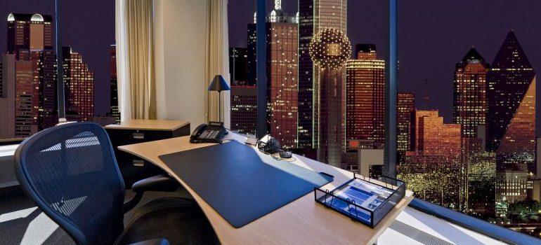 Work office in Dallas