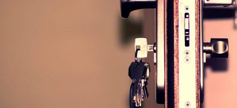 Keys in the lock