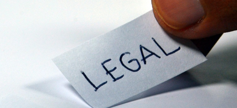 word legal on paper