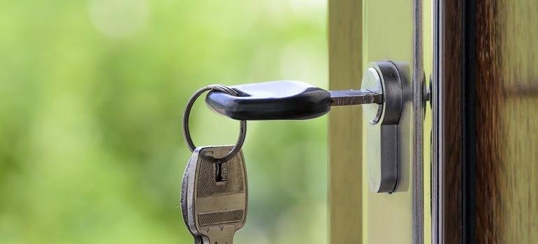 key in doors