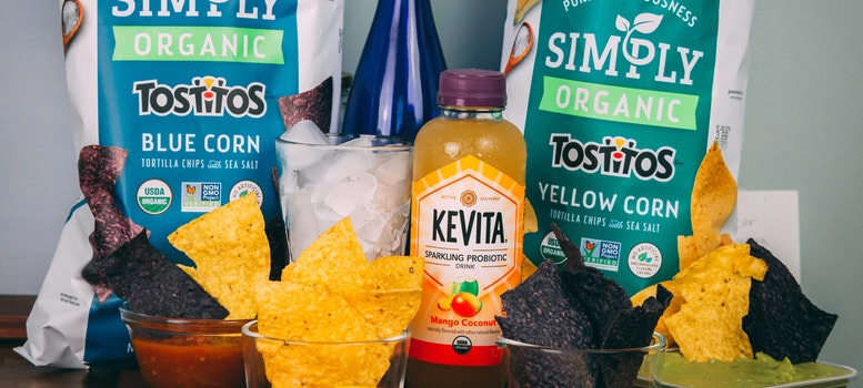 Chips and juice