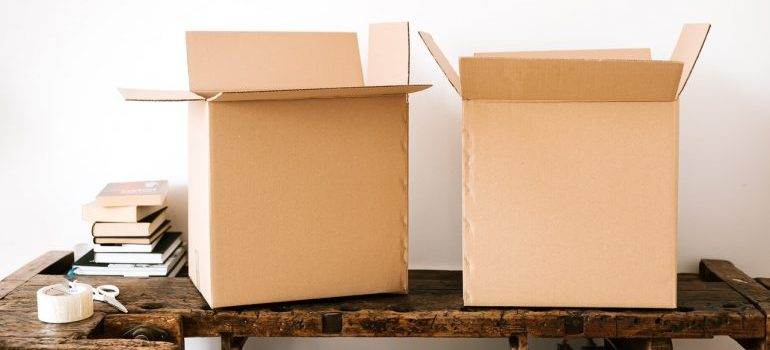 boxes - save time while packing