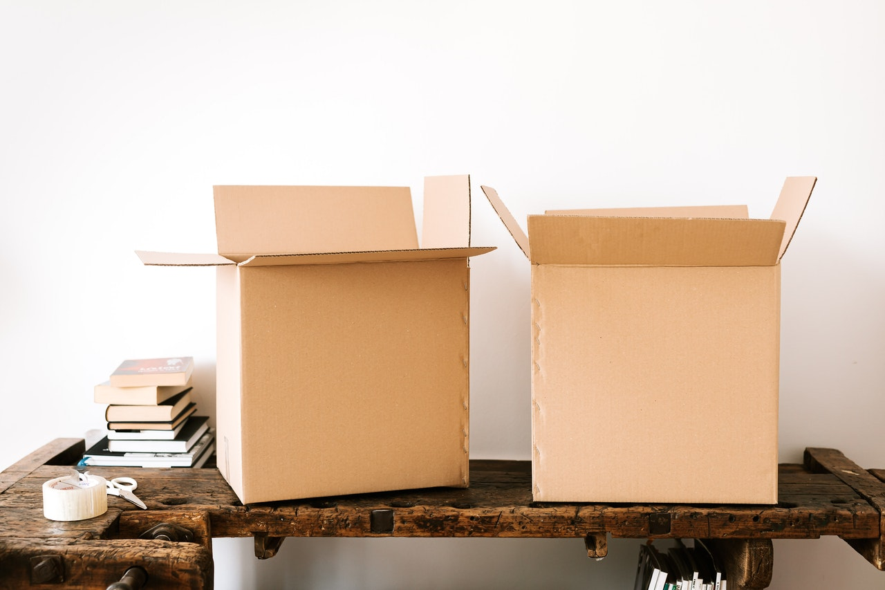 Where to get packing supplies for free